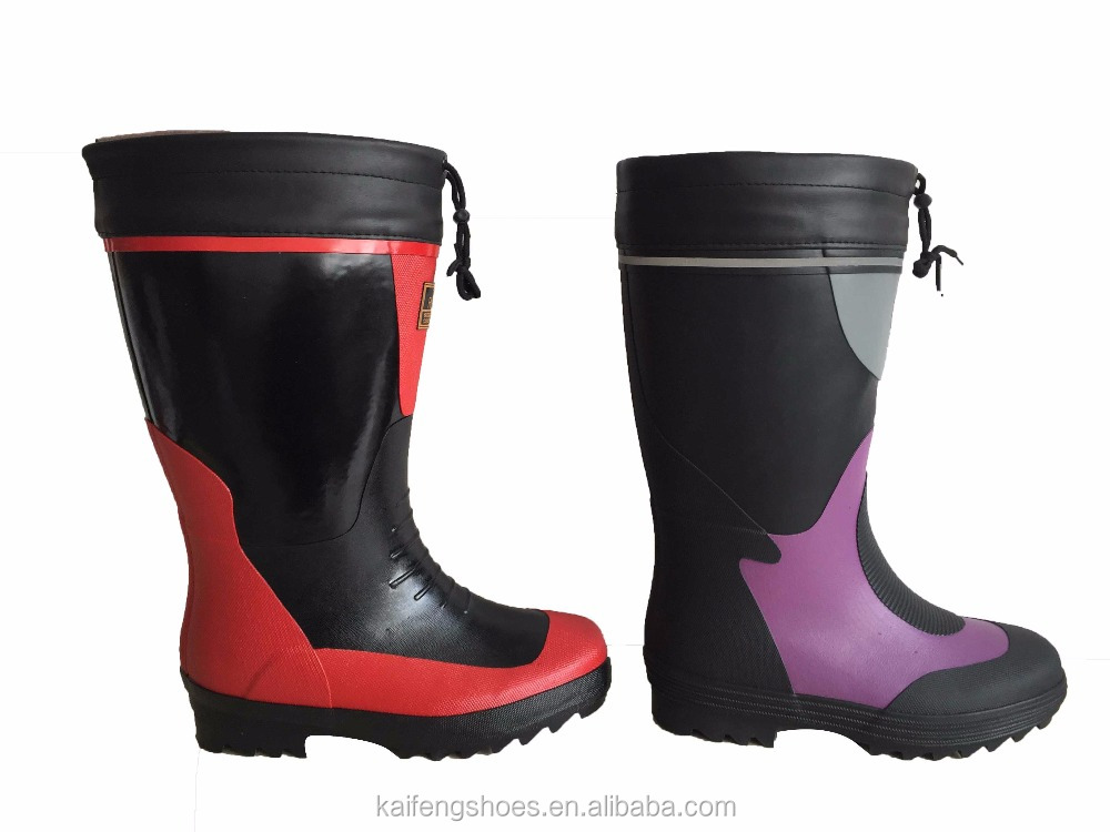 Soft Material Rubber Boots, Hot-sale Cheap Rubber Boots,Durable Waterproof Rubber Boots
