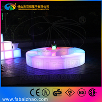 led curve bench, led long chair, led snake chair, connected stool for event or party hire