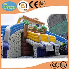 New product special inflatable spiral water slide
