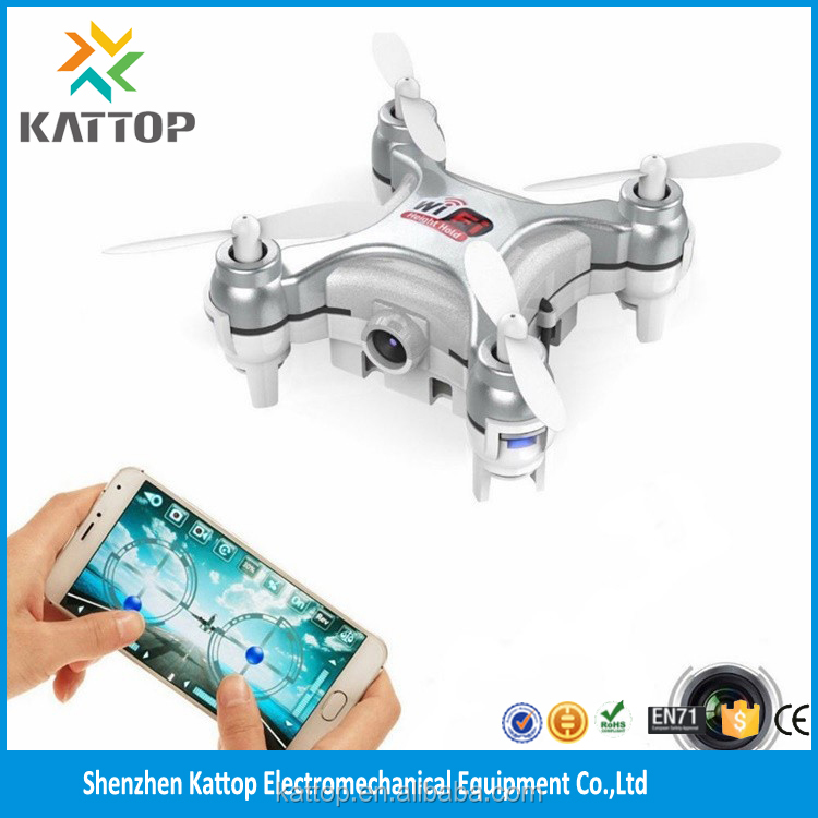 Best 2.4G 4CH 6 Axis Mini Drone with HD Camera from kattop k19 wifi skyline rc drone fpv quadcopter