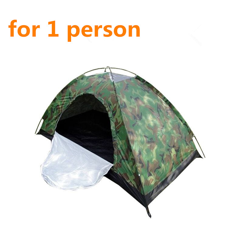 Low price backpacking tent outdoor camping tent waterproof camouflage travel tent