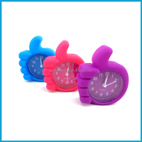 Silicone mini alarm clock for travelling
