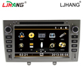 Car DVD radio audio vedio double din GPS Navigation multimedia player For peugeot 308/408 Steering Wheel Control Bluetooth
