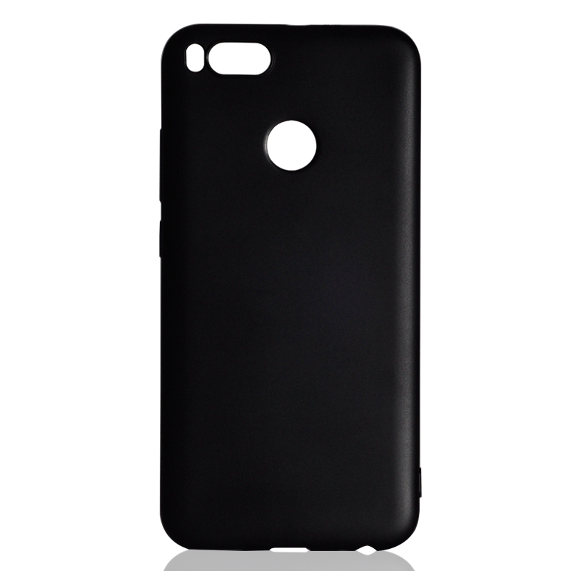 DFIFAN Black Pattern Cover Case For Xiaomi mi 5x , TPU Plastic Material Mobile Case for xiaomi mi A1