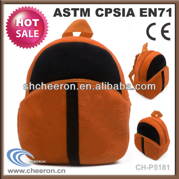 Plush toy backpack for kids