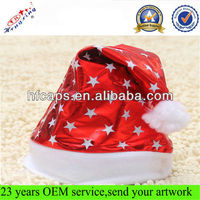 Custom Unique Santa Christmas Hat /Christmas Hat in Stocks High Quality