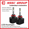 Manufacturer NSSC auto lighting H1 led motorcycle headlight bulb factory sale 2016 Led headlight