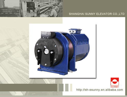 Lift geared Traction Machine for ThyssenKrupp,MITSUBISHI, HITACH,Schindler,LG,KONE,SIGMA