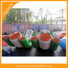 Popular Inflatable Water Totter / Water Rocket For Water Park On Wate