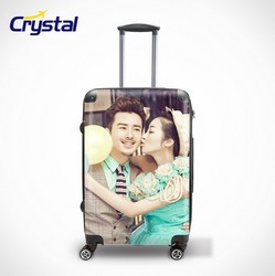 Promotion Gift Hard Luggage 100% Pure PC Luggage 3 Size-PC20'' 24'' 28'' Cabin Size Trolley Cases /Maletas