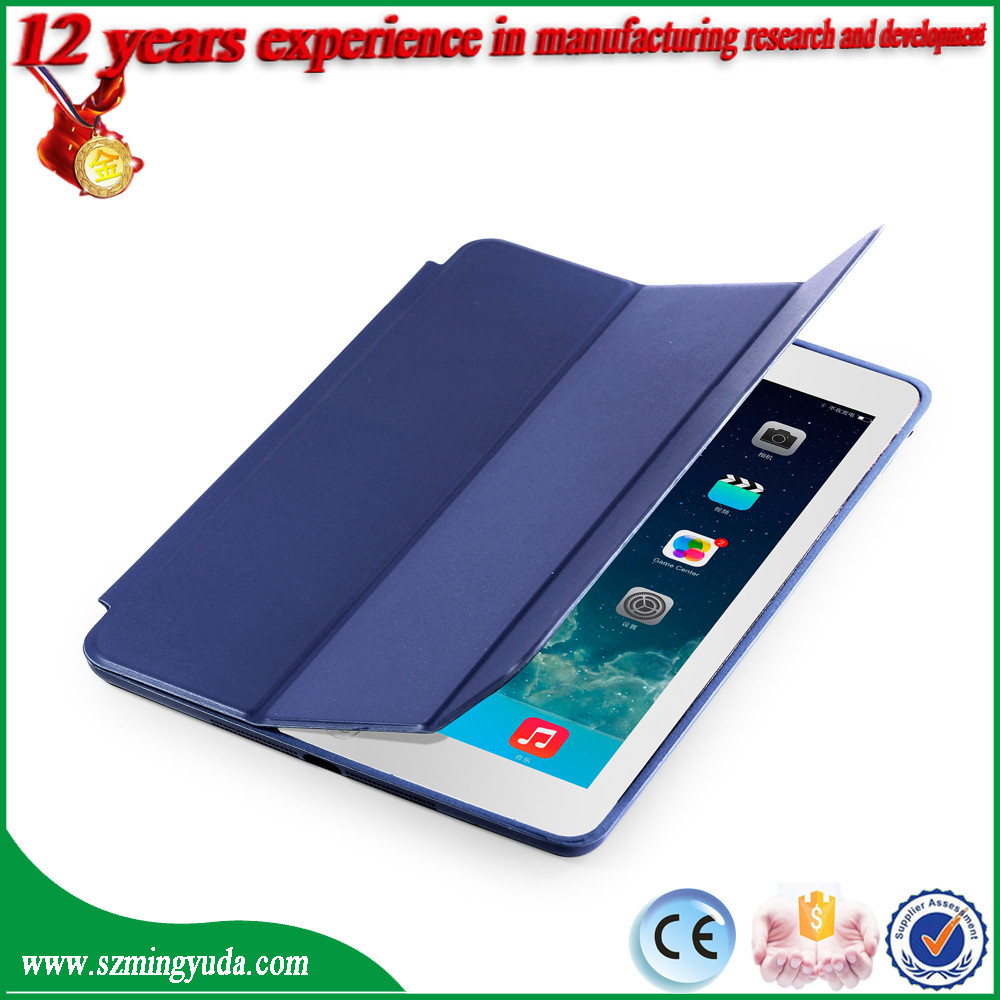 Factory fashion leather tablet cover case , tablet cover for ipad air , leather case for ipad 5