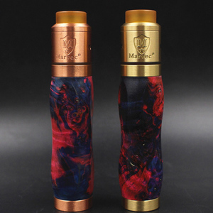 New product Stable wood outer pipe mechanical vape mod e-cigarette broadside mod clone