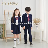 Fashionable western style school uniform sex Designs For party Wear