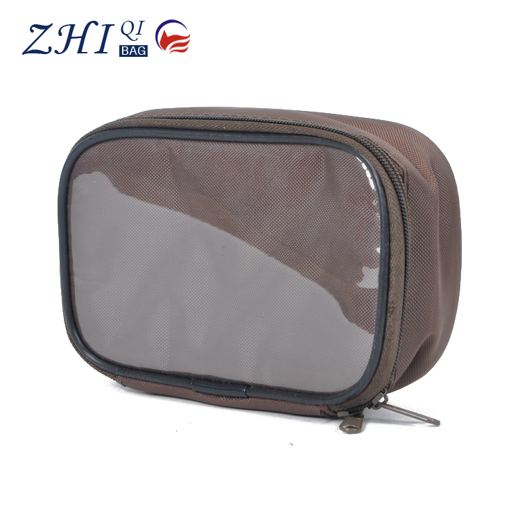 latest fashion ZQ-B-052 Dongguan PVC factory outlet BSCI cheap personalized makeup cosmetic bag