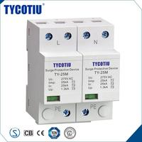 TYCOTIU China Factory Lightning Conductor For Electrical Panels Power Voltage Protector/Surge Protector