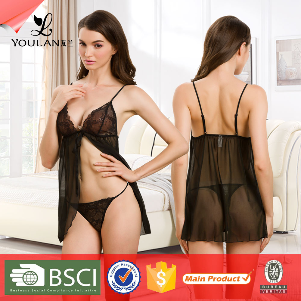 For Sale Valentine OEM Asian Transparent Lingerie Nude