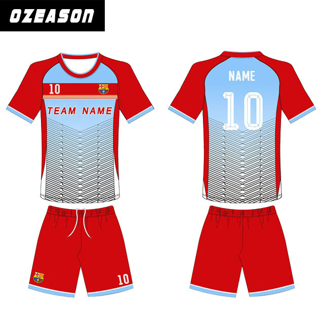 Design your own customized embroidery cheap wholesale plain soccer jersey for team shirt