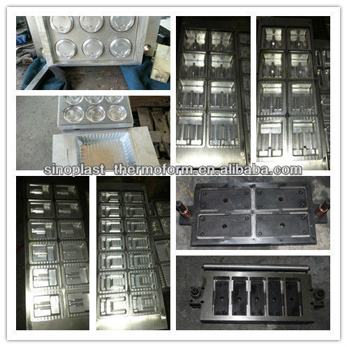 cheap price for SP-400A Automatic Plastic Lid Thermoforming Machine, Lid machine, lid making machine