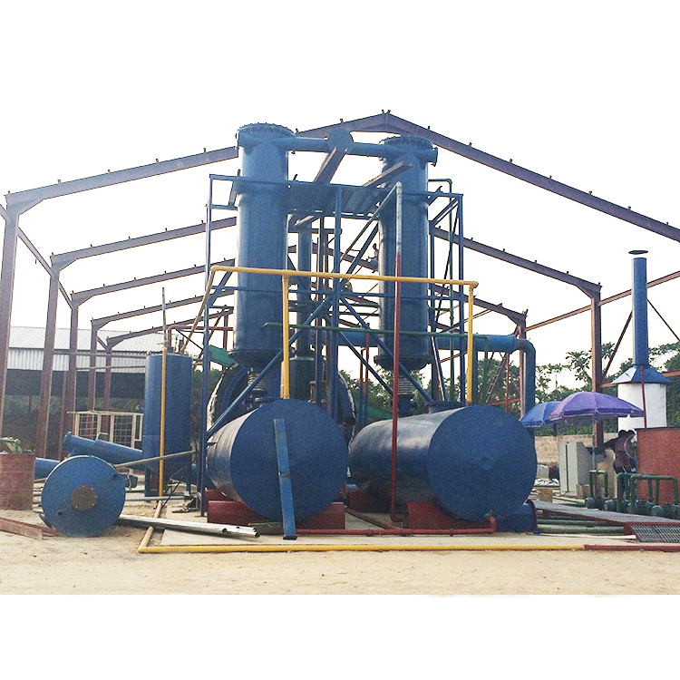 High margin continuous waste plastic recycling to oil device