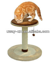 Best selling wood pet furniture scratching trees for cats