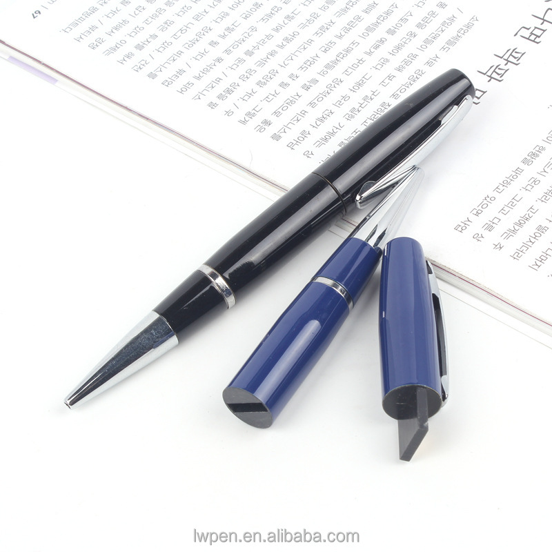 high up-grade polished pen body like mirror usb ball pen
