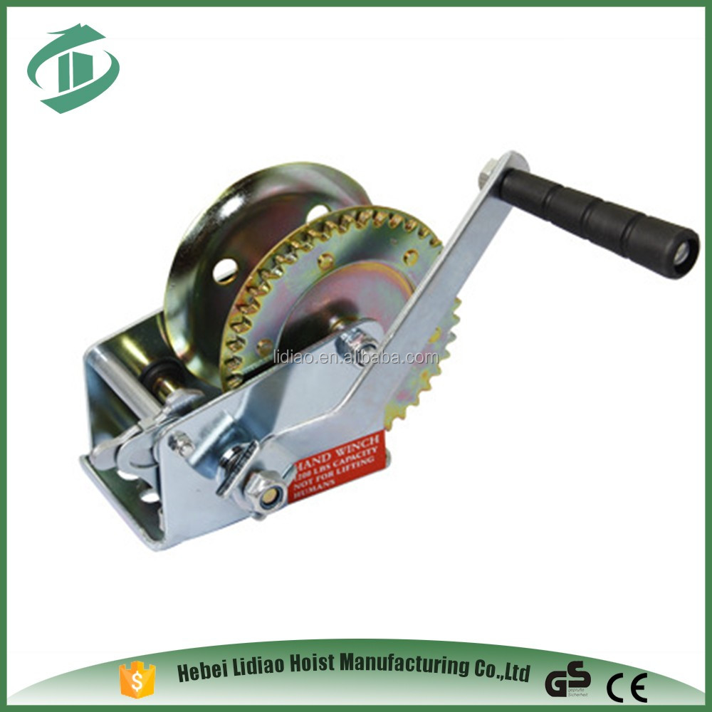 Portable Manual Hand Winch Small
