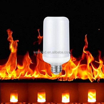 B22 Flicker Fire Effect SMD 5W Party decorative LED Flame Light