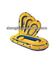 Pvc inflatable two person rowing boat for sale
