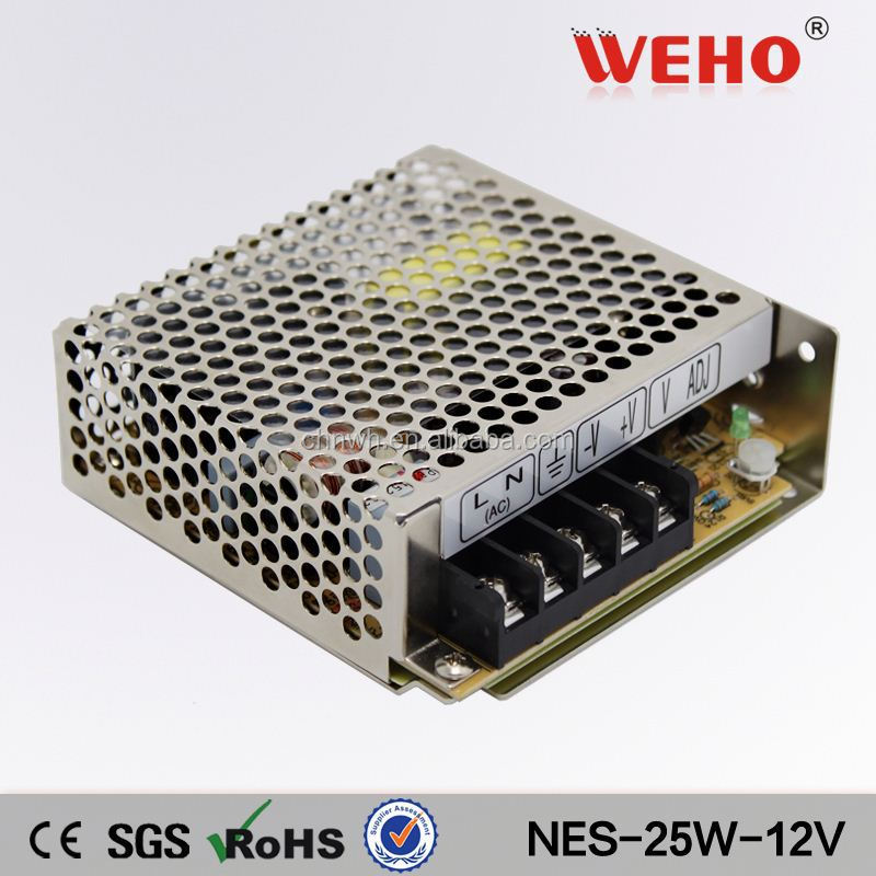 OEM High quality NES 25w single ac dc output 12v power supply