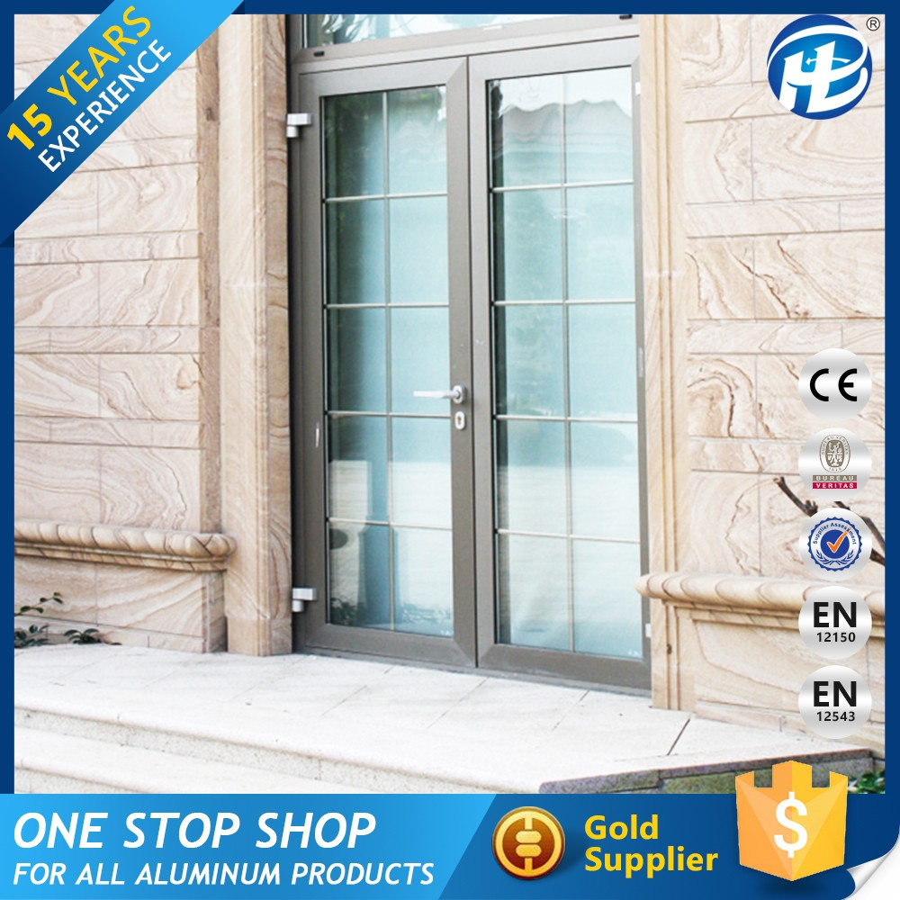 China Product Sound Proof Used Aluminium Commercial Glass Doors