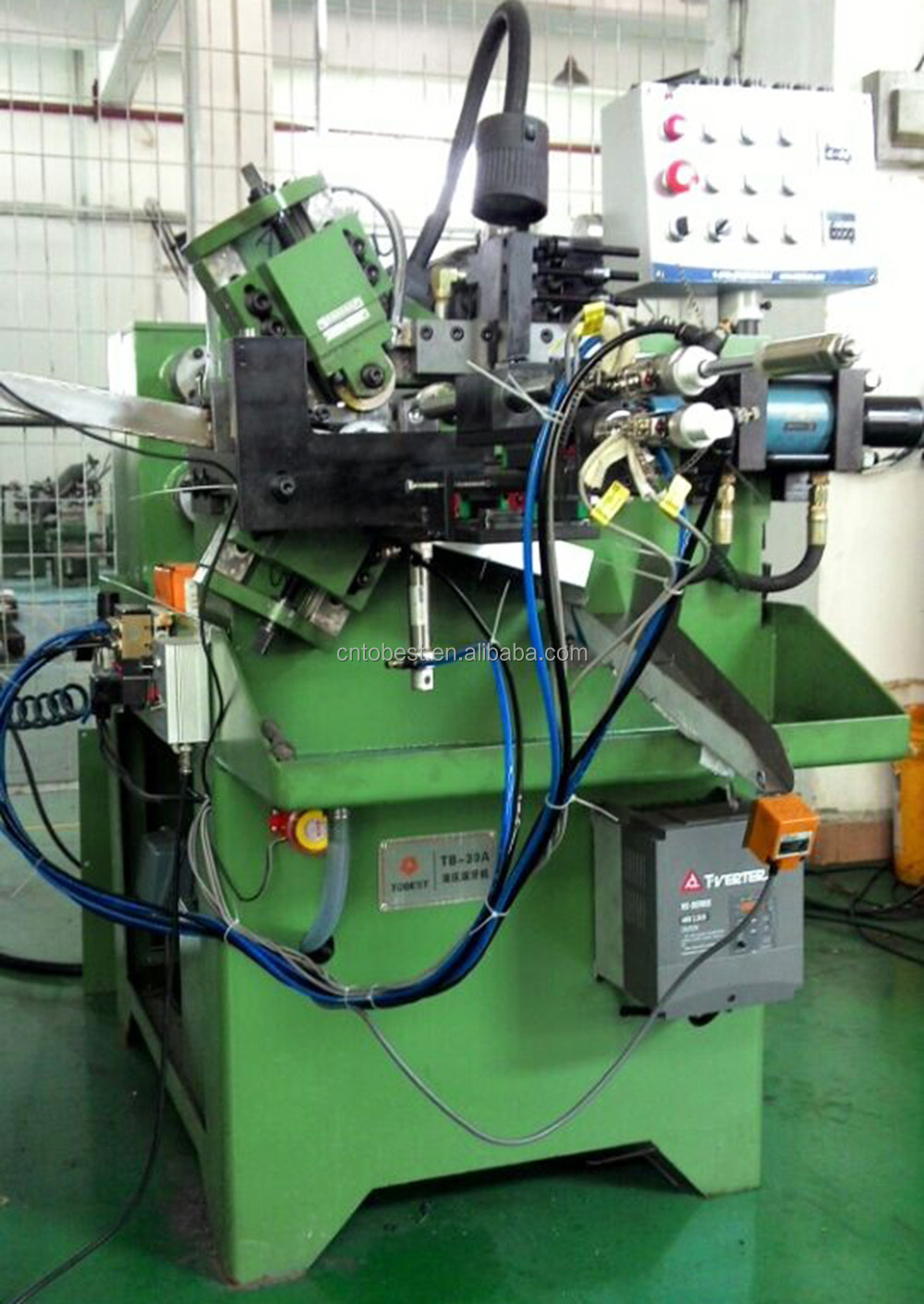 nut screw making machine stainless steel tube thread making machine