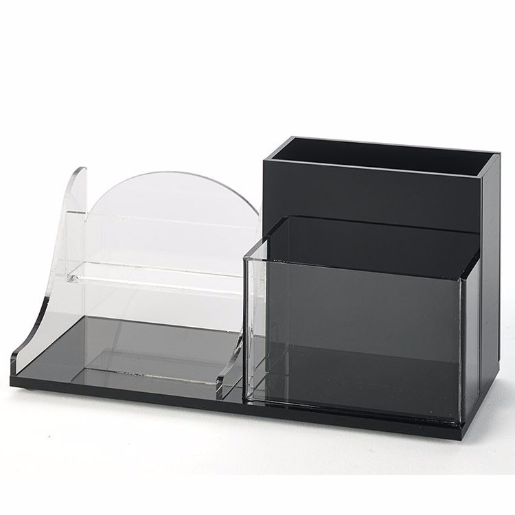 Wholesale Office Supplies Acrylic Desk Organizer Set For