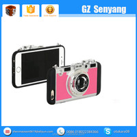 Hot selling Korean Fashion 3D Dropproof Camera Cases for iphone 6s