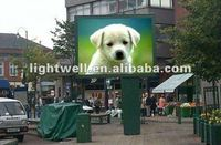 HIghway/expressway/supermarket wall building P10 outdoor led display led screen billboard