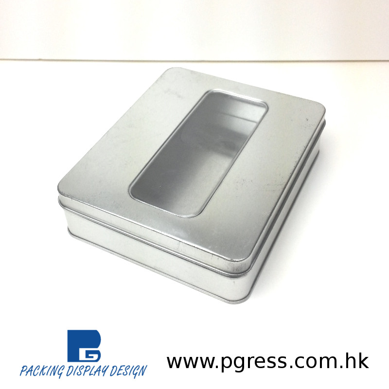 High quality customized Tin Aluminum tin box for assorted items packaging box