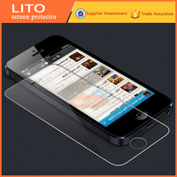 LITO's anti-scratch clear tempered glass screen protector for iphone 5