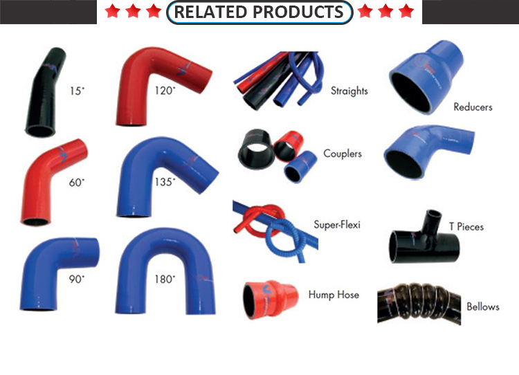 high performance radiator silicone hose kits for racing car