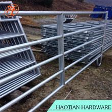 Square/Round/Oval Rails Style Galvanized Livestock/Farm/Corral fence panel for sales