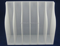 clear acrylic brochure holder/lucite plexiglass magazine display holder/perspex office supply
