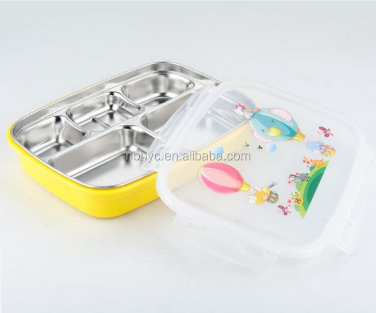 Leak-proof Stainless Steel Lunch Container,Leak Proof stainless steel Lunch and Snack Box,Dishwasher Toddler lunch container