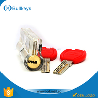 New arrival transparent cutaway lock for locksmith training tools fashion wholesale business gift ideas