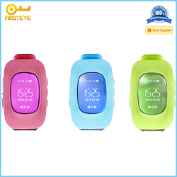 Cheap Kids Tracker Watch Q50 / LBS GPS Tracking Smart Watch GPS Watch For Kids child