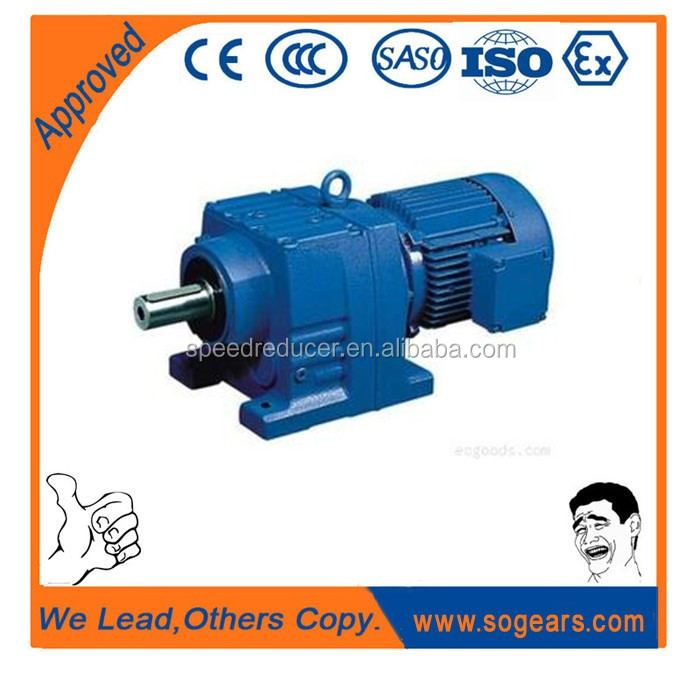 Gr series helical sew geared motor