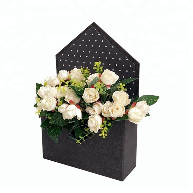 Manufacturer Wholesale Envelope Shaped Paper Flower Box Buy Flower