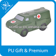 Premiums custom gifts foam anti stress ball military medical vehicle soft logo toys cheap but great giveaway