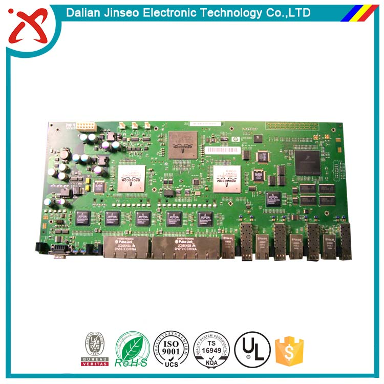 5 port smart poe switch pcb board manufacturers