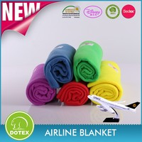 FAR 25.853 fire flame retardant cheap and disposable airline blanket