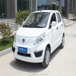 With air condition electric car e car of 4 seat