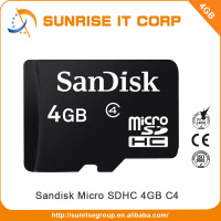 wholesale Taiwan best sale good quality and service cheap price 4gb bulk memory card