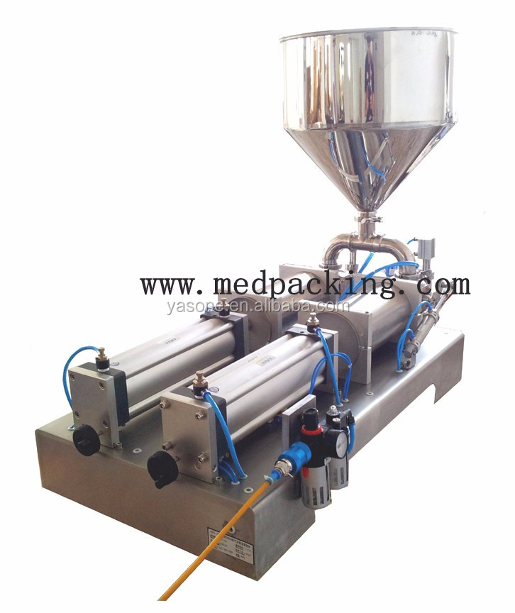 5-100ml Double Heads Food Automatic Ice Cream Filling Machine